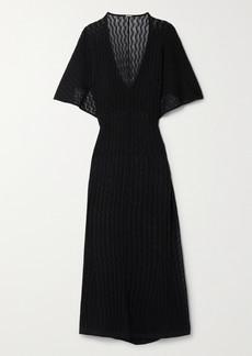 Dodo Bar Or Val Pointelle-knit Maxi Dress