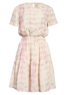 Dolan Gigi Smocked Waist Dress