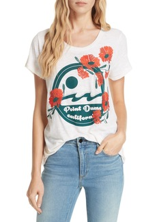 Dolan Point Dume Embroidered Tee