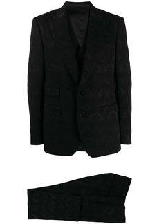 Dolce & Gabbana damask three piece suit