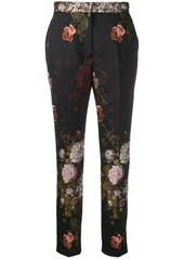 Dolce & Gabbana slim fit floral trousers