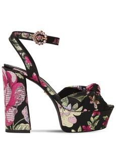 Dolce & Gabbana 120mm Keira Jaquard Sandals