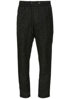 Dolce & Gabbana 17cm Wool Jacquard Jogging Pants