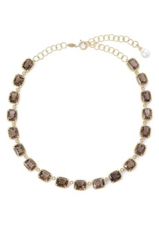 Dolce & Gabbana 18kt yellow gold Anna gemstone necklace