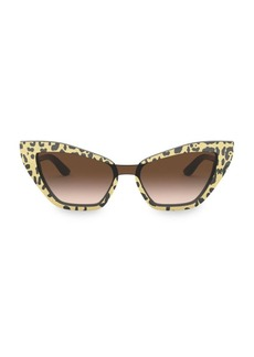 Dolce & Gabbana 29MM Cat Eye Sunglasses