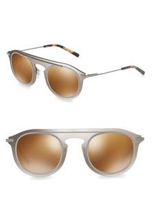 Dolce & Gabbana 48MM Round Sunglasses