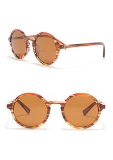 Dolce & Gabbana 49mm Round Sunglasses