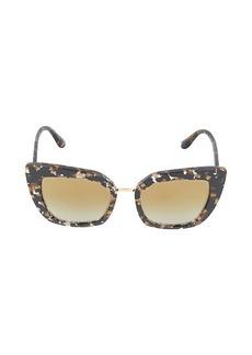 Dolce & Gabbana 52MM Cat Eye Sunglasses