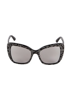 Dolce & Gabbana 54MM Cat Eye Sunglasses