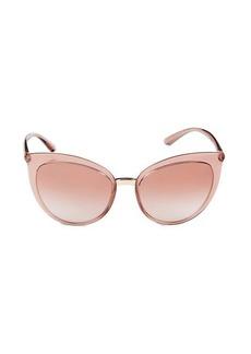 Dolce & Gabbana 55MM Cat Eye Sunglasses