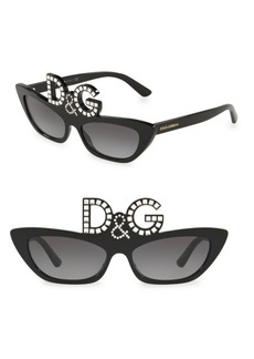 Dolce & Gabbana 55MM Grad Runway Sunglasses
