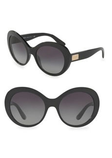 Dolce & Gabbana 56MM Oversized Sunglasses