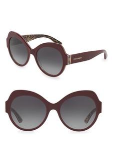 Dolce & Gabbana 56MM Round Sunglasses