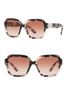 Dolce & Gabbana 56mm Square Sunglasses
