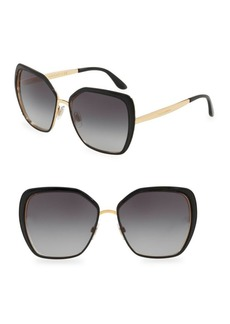 Dolce & Gabbana 56MM Square Sunglasses