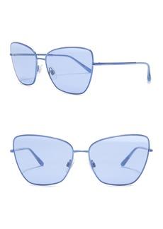 Dolce & Gabbana 62mm Cat Eye Sunglasses