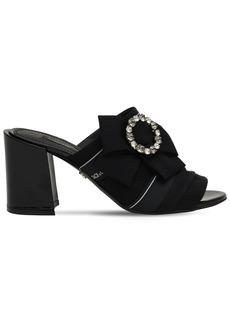 Dolce & Gabbana 75mm Keira Embellished Cady Sandals