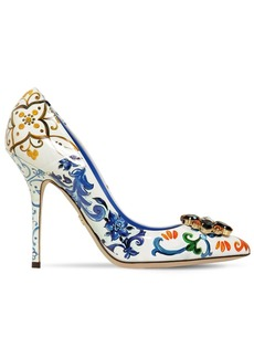 Dolce & Gabbana 90mm Bellucci Patent Leather Pumps