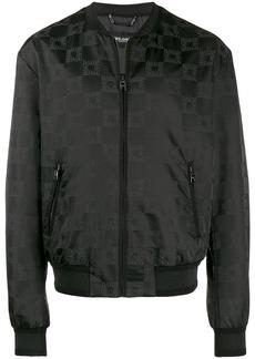 Dolce & Gabbana all-over logo print bomber jacket