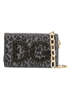 Dolce & Gabbana animal effect shoulder bag