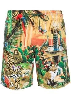 Dolce & Gabbana Animal Kingdom swim shorts