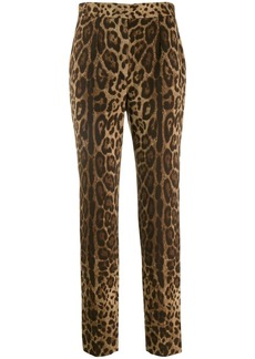 Dolce & Gabbana animal printed trousers