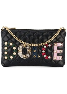 Dolce & Gabbana Appliqué Logo Quilted Bag