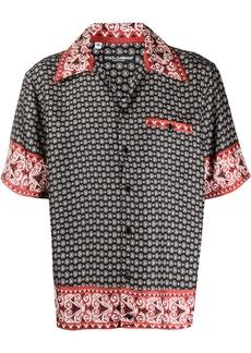 Dolce & Gabbana bandana print short-sleeved shirt