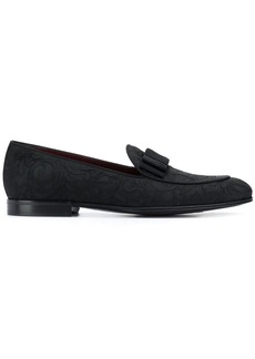 Dolce & Gabbana baroque jacquard loafers