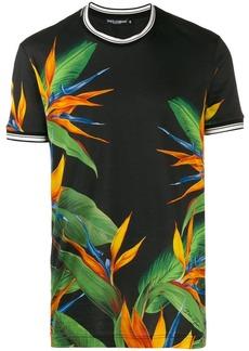 Dolce & Gabbana bird of paradise plant T-shirt