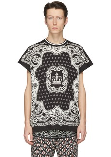 Dolce & Gabbana Black & Off-White Bandana T-Shirt