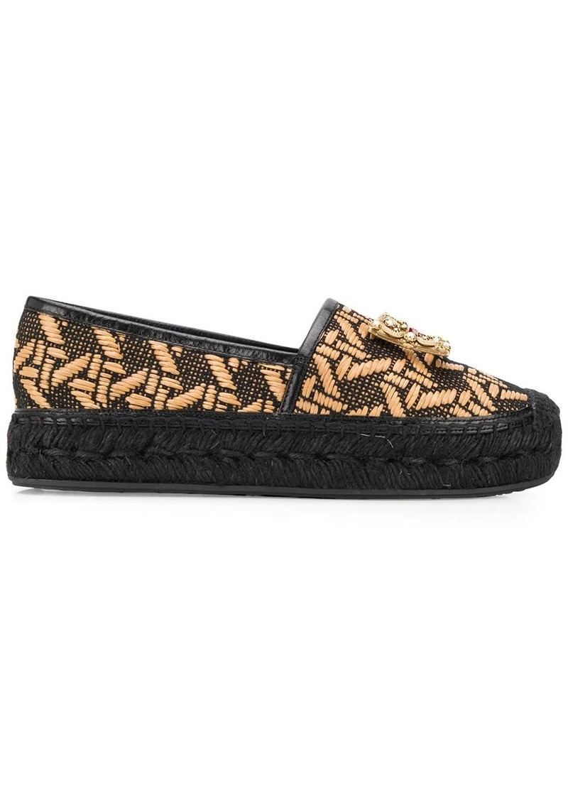 Dolce & Gabbana espadrilles with logo