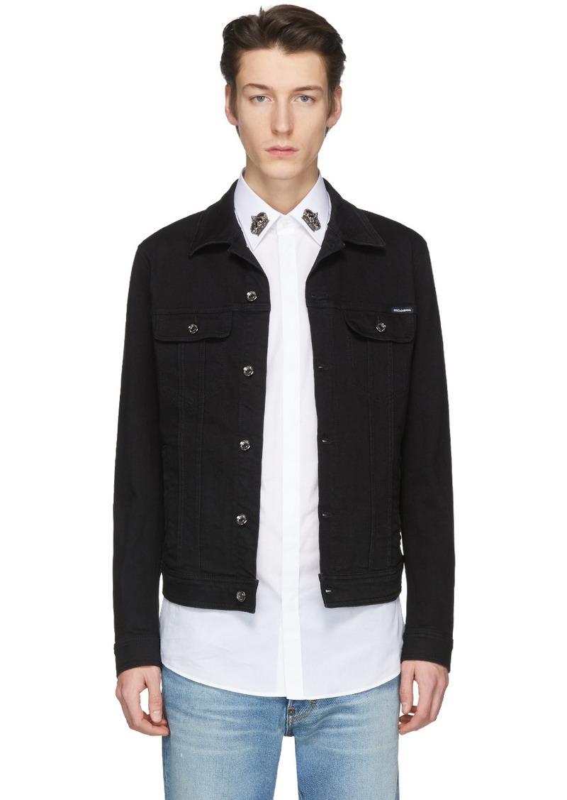 Dolce & Gabbana Black Denim Jacket