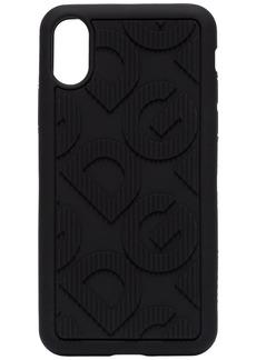 Dolce & Gabbana DG embossed iPhone X/XS case
