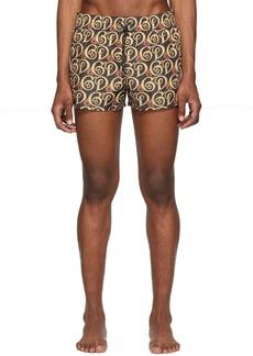 Dolce & Gabbana Black DG Liberty Swim Shorts