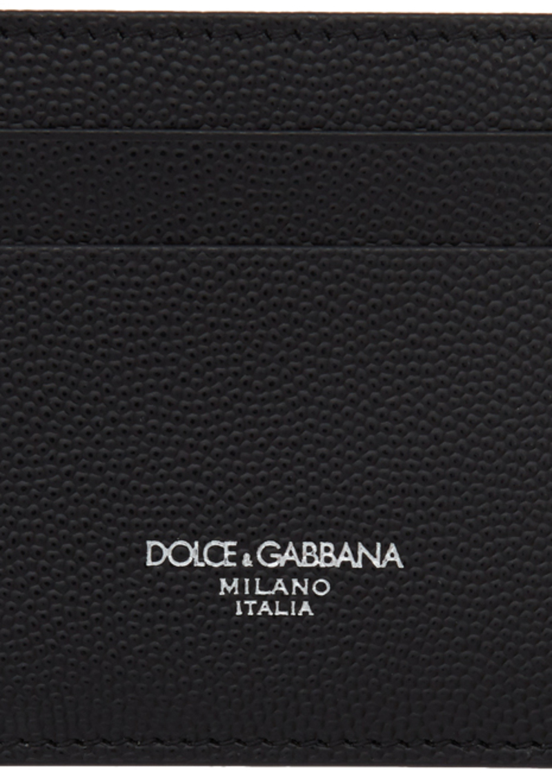 Dolce & Gabbana Black Logo Card Holder