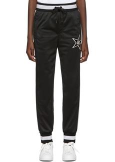 Dolce & Gabbana Black Millennials Star Lounge Pants