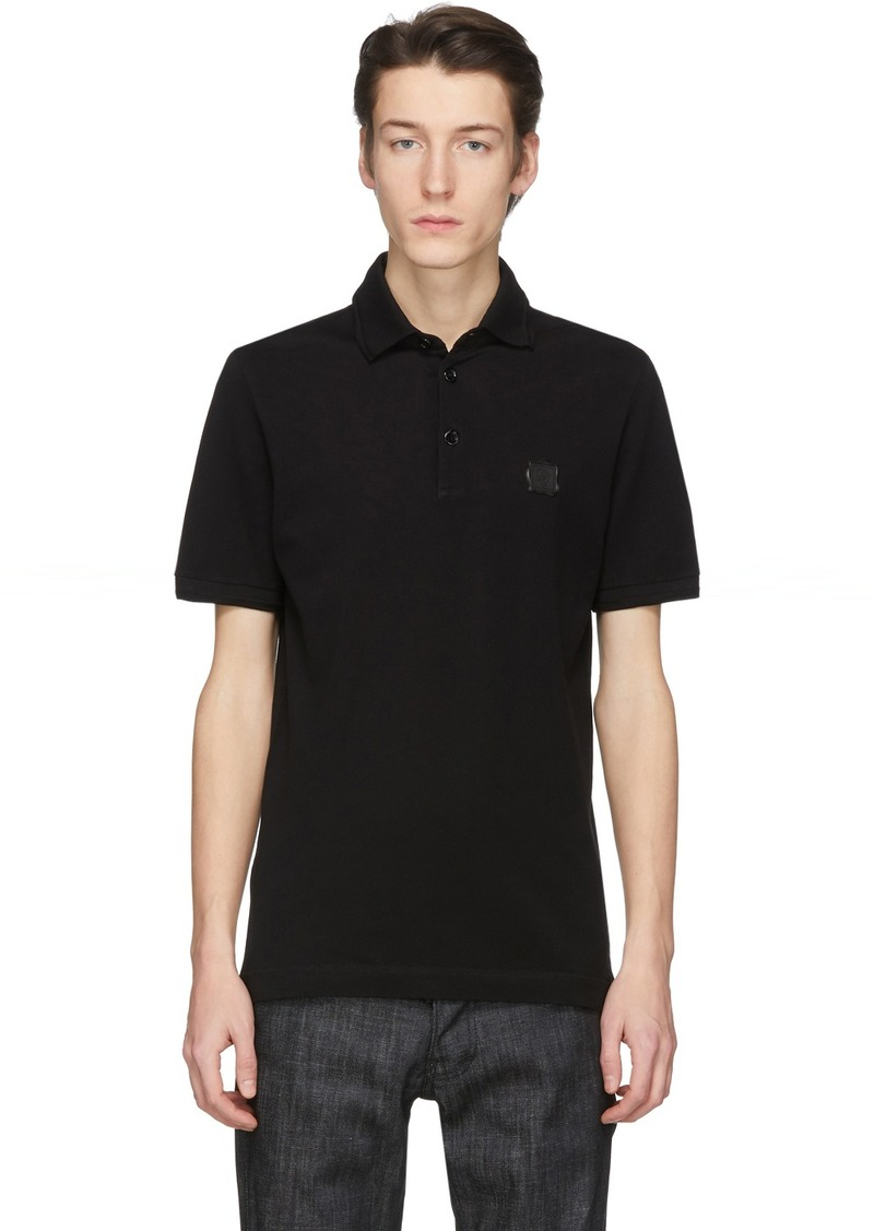 Dolce & Gabbana Black Stamp Polo
