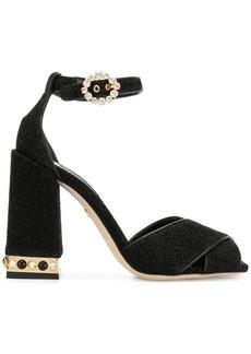 Dolce & Gabbana block heel sandals