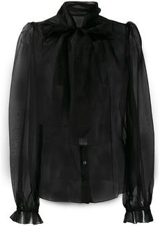 Dolce & Gabbana bow detail blouse