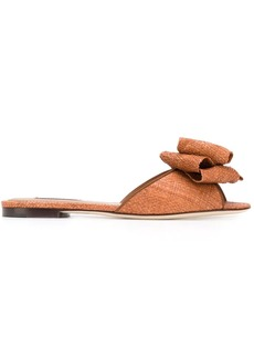 Dolce & Gabbana bow detail flat sandals