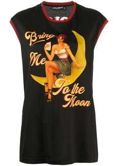 Dolce & Gabbana Bring Me To The Moon print vest