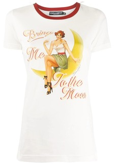 Dolce & Gabbana Bring me to the moon T-shirt