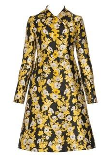 Dolce & Gabbana Brocade Floral Print Coat