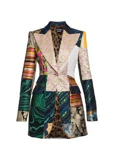 Dolce & Gabbana Brocade Patchwork Blazer
