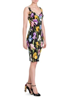 Dolce & Gabbana Bustier Floral Dress