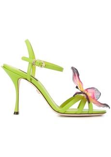 Dolce & Gabbana butterfly appliqué sandals