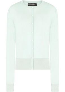 Dolce & Gabbana button-up silk cardigan
