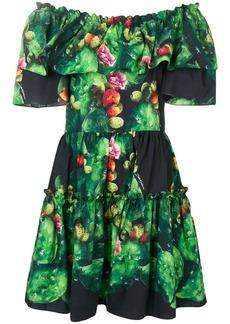 Dolce & Gabbana cactus print dress