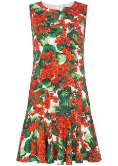 Dolce & Gabbana Cady floral-print dress